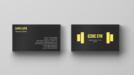 Ozone-Gym-business-card-mockup